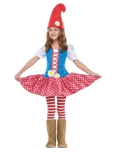 Gnome Girl Costume - Toddler Small (Gnome Halloween Costume)