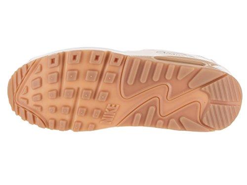 Nike Kvinders Air Max 90 Prm Løbesko Sejl / Sejl / Tyggegummi Lysebrun 5ICsPV5lnK