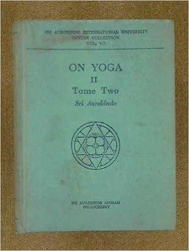 ON YOGA II - TOME ONE: Sri Aurobindo: Amazon.com: Books