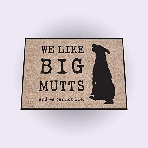 High Cotton Big Mutts Doormat - High Door Cotton Mat