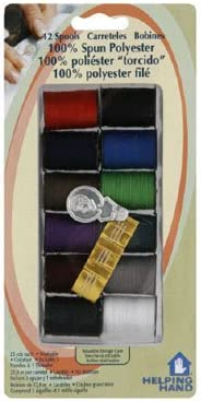 Helping Hand Spools of Thread Assorted (Pack of 6)