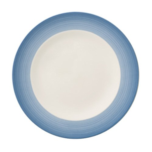 Colorful Life Winter Sky Salad Plate by Villeroy & Boch - Premium Porcelain - Made in Germany - Dishwasher and Microwave Safe - 8.5 Inches ()