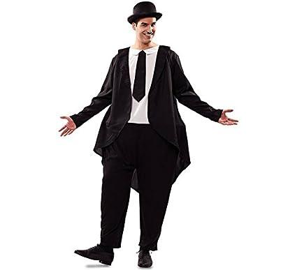 Disfraz de Gordo con traje para hombre: Amazon.es: Juguetes ...