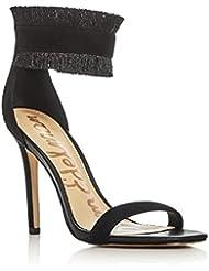 Sam Edelmans Womens Anabeth Fringe Ankle Strap High Heel Sandals