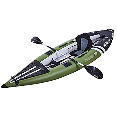 The Best Reinforced Inflatable Canoe Kayak Hybrid for 1 or 2 Persons (Solo or Tandem) review