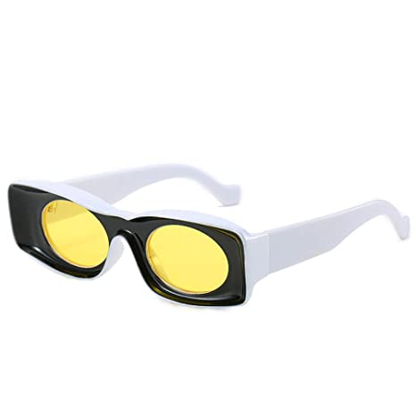 Yangjing-hl Gafas de Sol de Pasarela Rojas netas ...