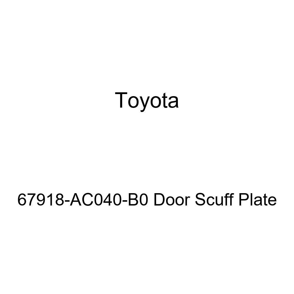 TOYOTA Genuine 67918-AC040-B0 Door Scuff Plate