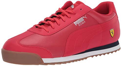 PUMA Men's Ferrari Roma Sneaker, Rosso Corsa, 12 M - Roma Mens Puma
