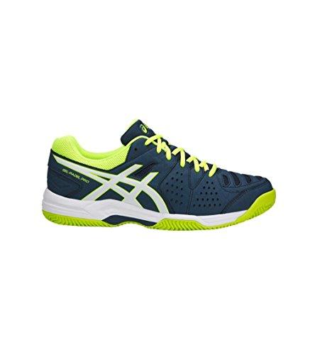 Fluo Pro Sg Gel padel Foncã Bleu jaune blanc Chaussures Asics 3 6qtp1vpw