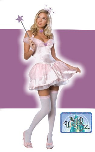 Secret Wishes  Women's Wizard of Oz Glinda Costume, Pink, Small