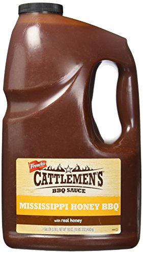 - Cattlemen's Mississippi Honey BBQ Sauce, 1 gal