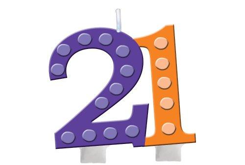 Creative Converting Bright Birthday Numeral