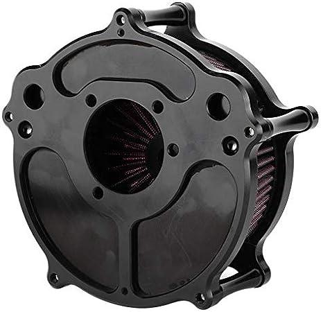 Motorrad Modifizierter Kontrast Cut Turbine Luftfilter Ansaugfilter Harley Sportster Xl883 Xl1200 Touring Softail Dyna Fxdls Auto