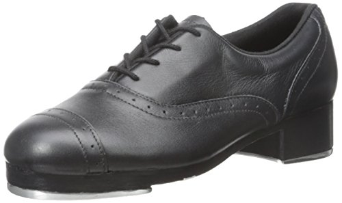 Bloch Dance Women's Jason Samuels Smith Tap Shoe, Black, 11 M US Black Leather Tap Oxford