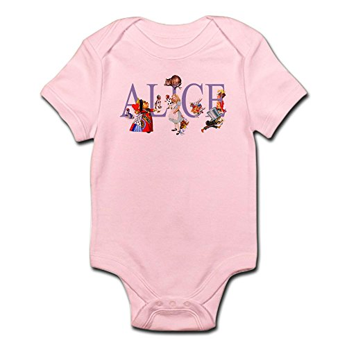 CafePress ALICE & FRIENDS IN WONDERLAND Cute Infant Bodysuit Baby Romper