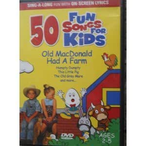 50 Fun Songs for Kids: Old MacDonald Had a Farm