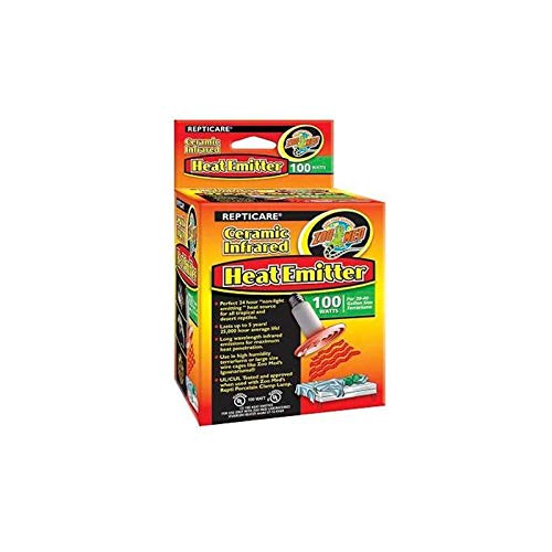 (3 Pack) Zoo Med ReptiCare Ceramic Infrared Heat Emitters 60 Watts by Zoo Med