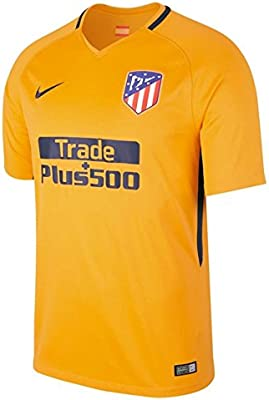 ac9cf450 Amazon.com : Nike 2017-2018 Atletico Madrid Away Football Soccer T-Shirt  Jersey (Kids) : Sports & Outdoors