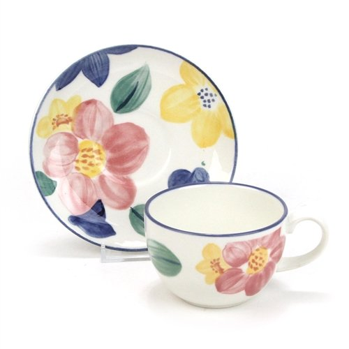 (Marie by Johnson Bros, Ironstone Cup & Saucer)