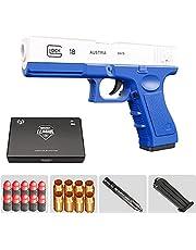 Outdoor Fun Toy, Toy Guns voor jongens Maat 1: 1 Automatisch Soft Bullet Gun, Classic Glock & M1911 Soft Bullet Toy Gun, Kids Catapult Toy