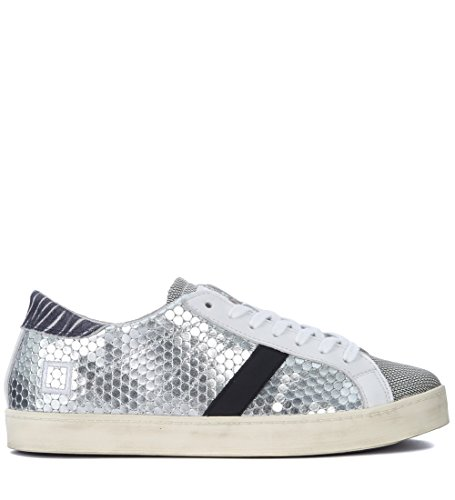 Donna A E T D Laminata Argento PM Pelle HL MainApps Sneakers Silver SL Aqpdwazd