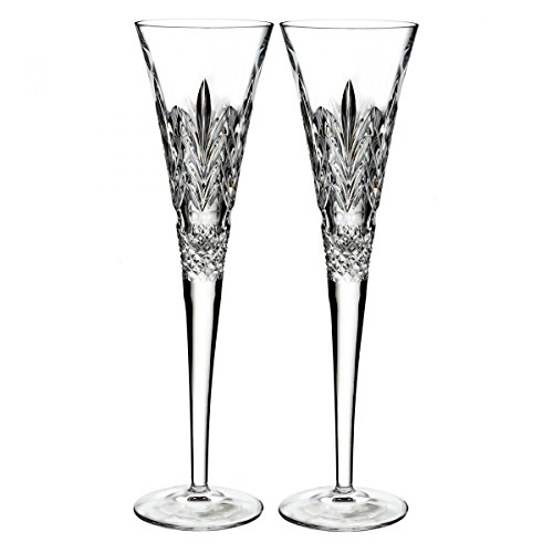 Waterford 2017 Times Square Flute, Pair by Waterford