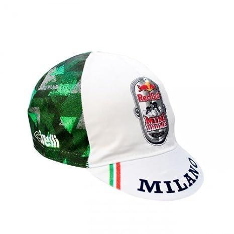 Cinelli Mtze Redbull Minidrome - Gorra para Hombre, Color Blanco ...