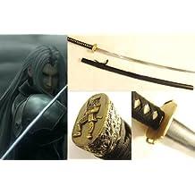 Dream2reality Cosplay Final Fantasy 7 Sephiroth Masamune Replica Sword T10 Clay Tempered High Carbon Steel Full Handmade Full Tang Katana