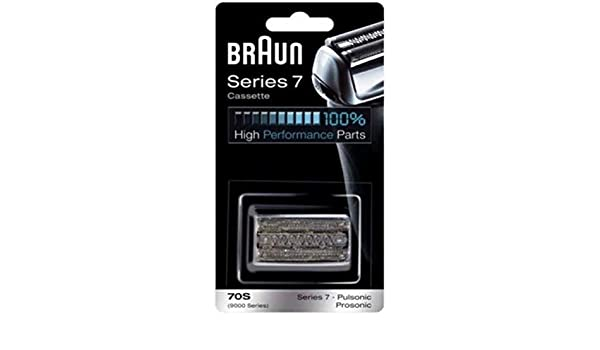 Braun 70S Foil Cutter Head Pack for Series 7 / 9000 Pulsonic Electric Shavers by: Amazon.es: Juguetes y juegos