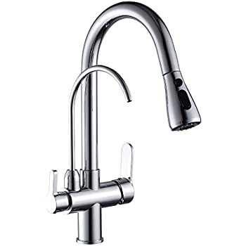 Iontech Chrome Plated Alkaline Water Ionizer Faucet Tap