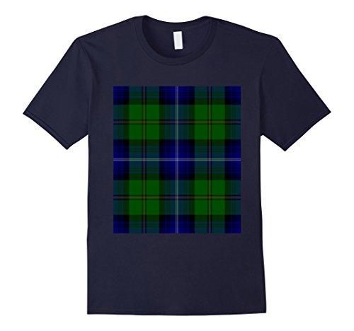 Mens Clan Urquhart Tartan T-Shirt Scottish Scotland Surname Tee 2XL - Men Boutique For