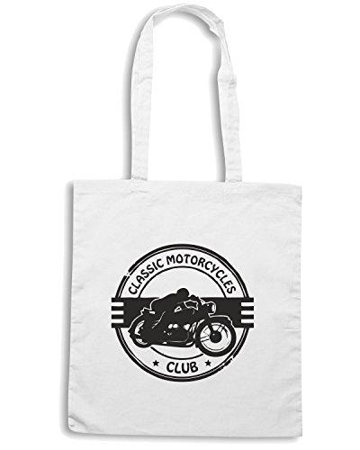 T-Shirtshock - Bolsa de playa de Algodón  Mujer Bianco