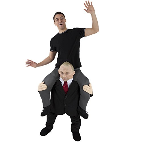 Morph Unisex Piggy Back Comrade Vladimir Putin Piggyback Costume - With Stuff Your Own Legs]()