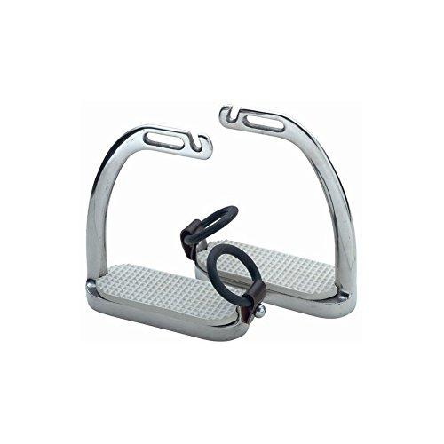 Fillis Peacock Safety Stirrup Irons, Steel, 4.0