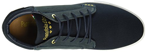 Canvas Men D'oro Baskets Prato Navy Pantofola dark Homme Mid Bleu AEqwaBI