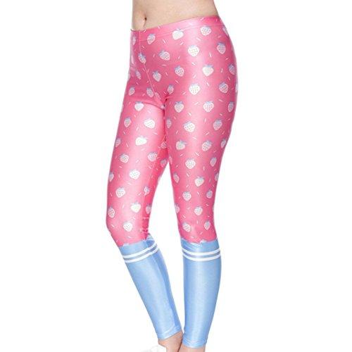 Da Yoga Yoga Rosa Sportivo Leggings Abbigliamento Styledresser Vita Jogging Yoga Leggings Pantaloni Fitness Donne Plus Abbigliamento Leggings Allenamento Donna Alta xqfwnIz6wH