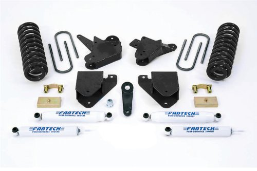 Fabtech K2094 Basic Lift System w/Shocks w/Performance Shocks 4 in. Lift Basic Lift System w/Shocks