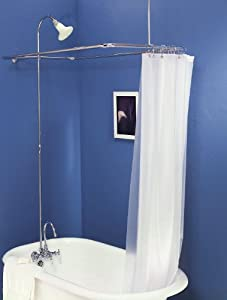 Add On Shower For Clawfoot Tub With Riser Amp Diverter