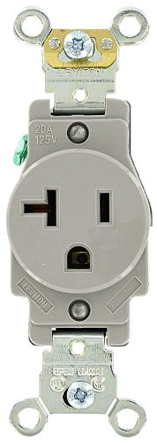 Leviton 5361 GY Industrial Receptacle Grounding