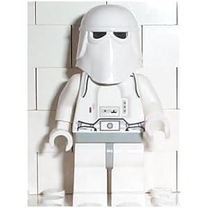 Lego Star Wars SW005 Biker Scout Trooper Figurine Avec Blaster Rifle