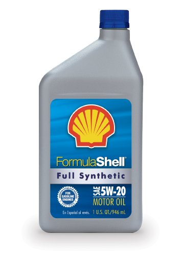 Formula Shell Full Synthetic 5W-20 Motor Oil - 1 Quart Bottle