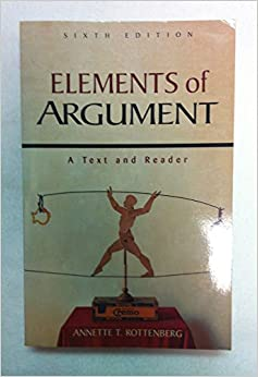 Book Elements of Argument: A Text and Reader