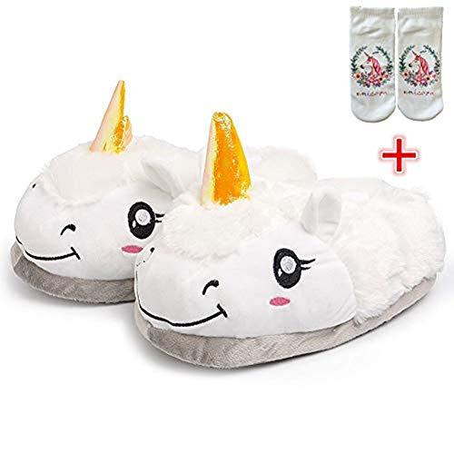 Fenicottero Tears Unicorno Invernali Regali Sky Pantofole Originali Accessori Unisex 42 Bianco pantofole Feste Compleanno Peluche Ciabatte 36 Cosplay 2 Sì ZRgpxgOn
