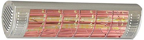Unbekannt CasaTherm infrarossi W1500Gold lowglare IP65, argento, 1500Watt 1500Watt Casafan 70028