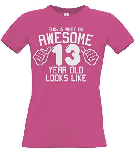 esto es lo que una mirada impresionante 13 años de edad como - chica Camiseta