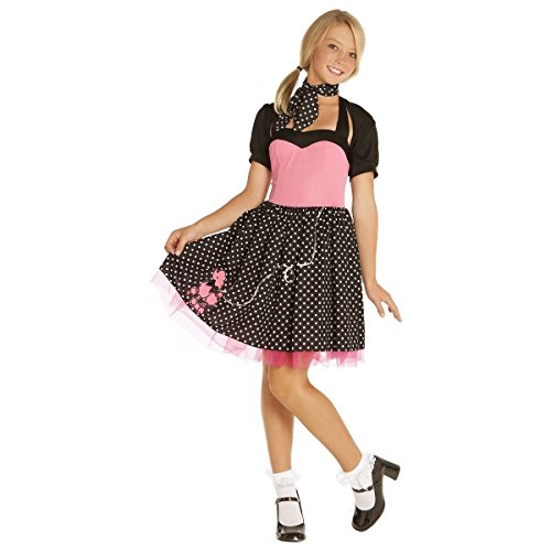 [GSG Sock Hop Cutie Costume Kids Halloween Fancy Dress] (Nurse Costumes For Teens)
