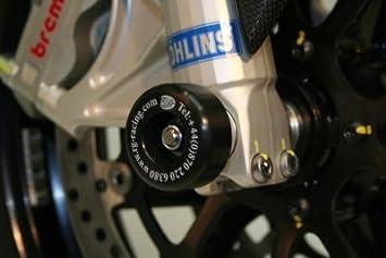 R&G motorcycle Front Fork Protectors Black for Suzuki Suzuki