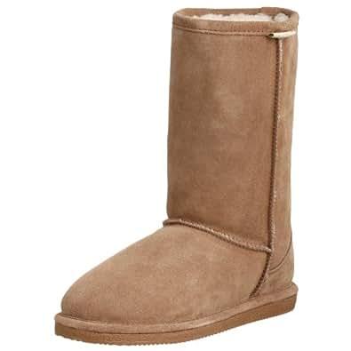 "Bearpaw Women's Suede & Shearling 10"" Boot - Style 410 Eva (7, Chestnut)"