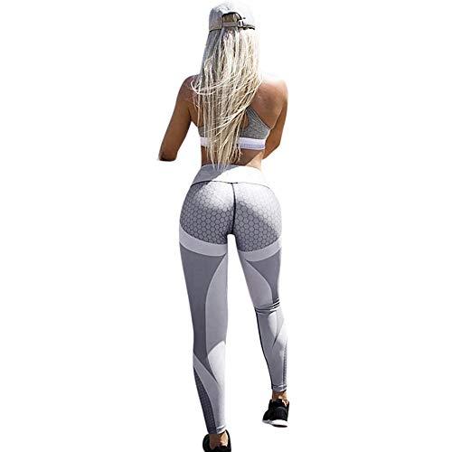 LISTHA Women Yoga Leggings Sports Cropped Pants 3D Print Skinny Workout Gym]()
