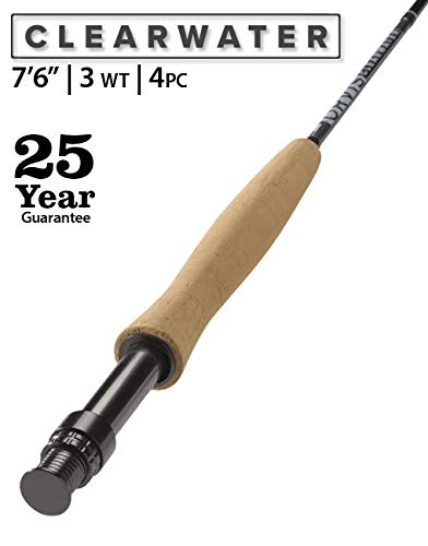 Orvis Clearwater 3-Weight 7'6' Fly Rod